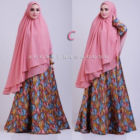 Velora C Baju Muslim Gamis Modern