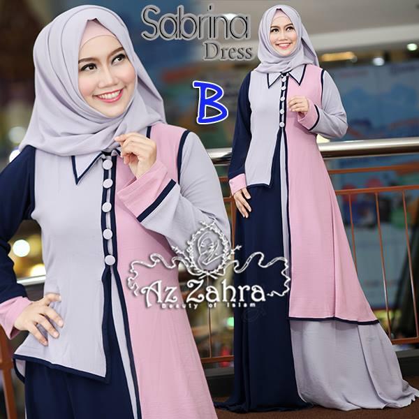 Sabrina B Baju Muslim Gamis Modern