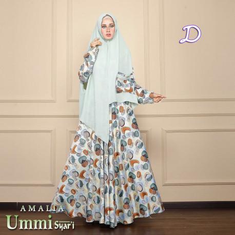 Amalia D Baju Muslim Gamis Modern