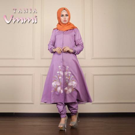 Tania Violet Baju Muslim Gamis Modern