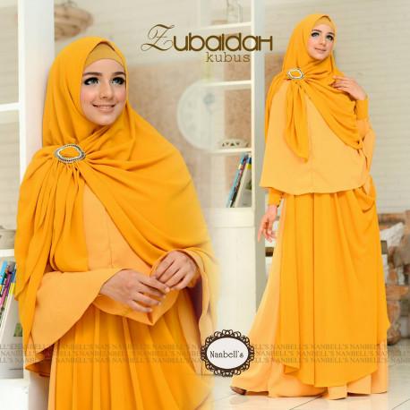Zubaidah Kubus Baju Muslim Gamis Modern