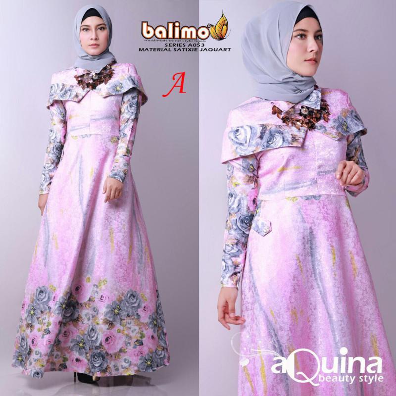 Aquine A Baju Muslim Gamis Modern
