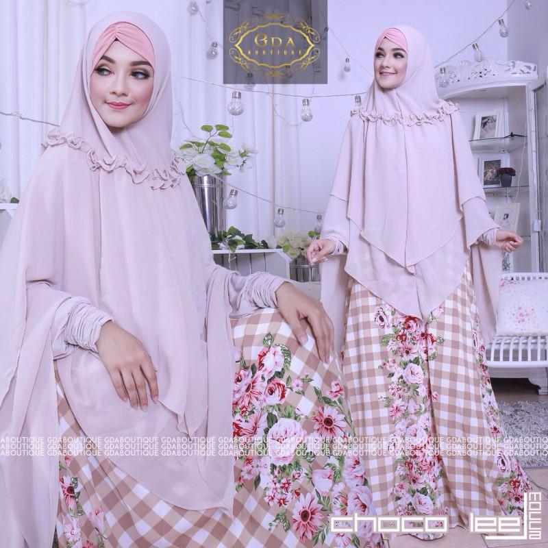 Choco Lee Syar I Baju Muslim Gamis Modern
