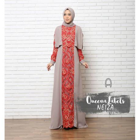 Neiza A Baju Muslim Gamis Modern
