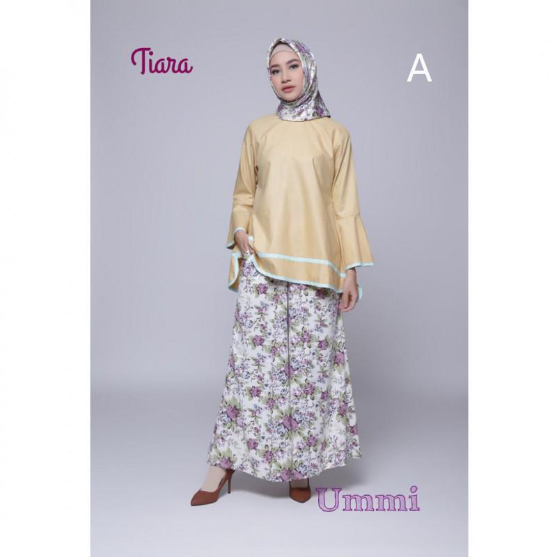 Tiara A Baju Muslim Gamis Modern