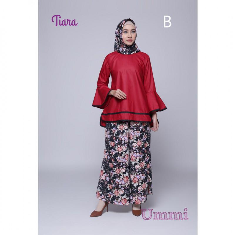 Tiara B Baju Muslim Gamis Modern