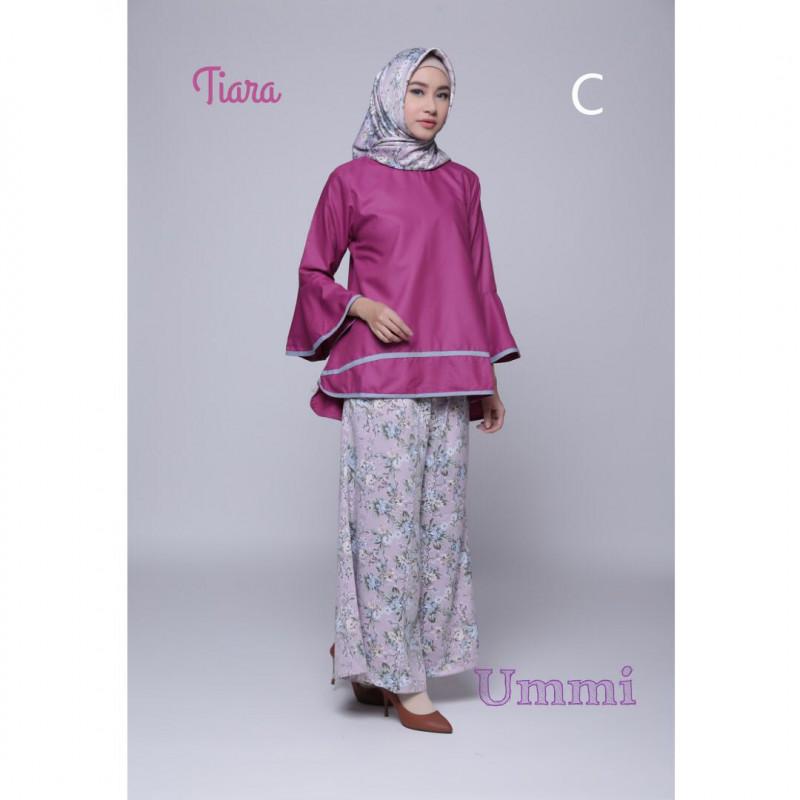 Tiara C Baju Muslim Gamis Modern