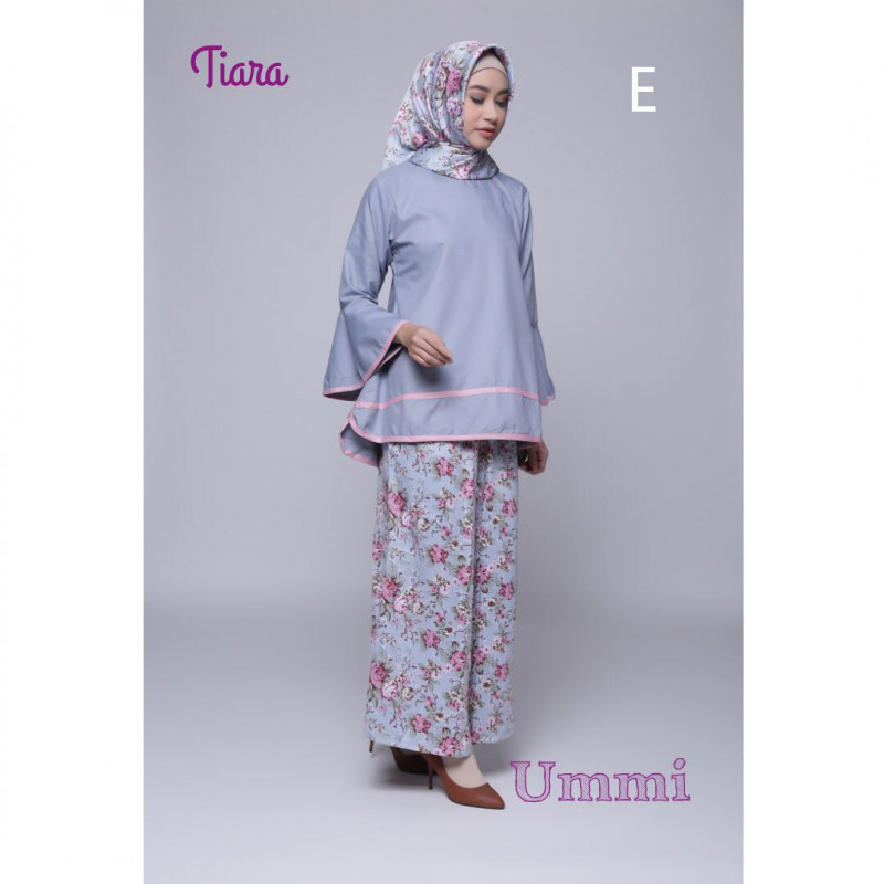 Tiara E Baju Muslim Gamis Modern