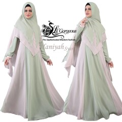 Busana muslim pesta Haniyah by Lil gorgeous mint