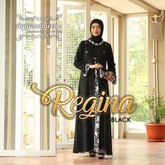 gamis terbaru regina by ayyanameena black