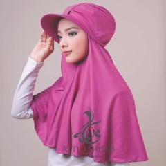 Hijab terbaru turtop by atika hijab violet