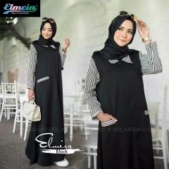 Model baju muslim elmira by elmeia black