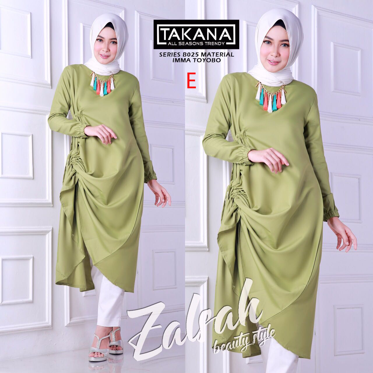 Model baju muslim zalsah by balimo E