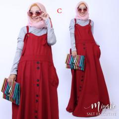 Pusat gamis muslim miyake dress C