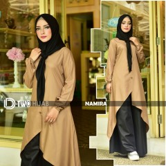 baju gamis namira by hijab d-two choco