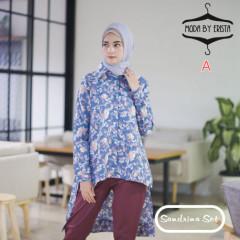 baju muslim sandrina set by moda A