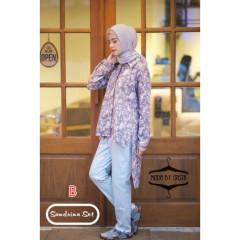 baju muslim sandrina set by moda B