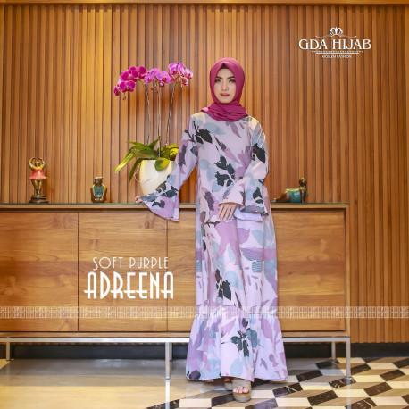 busana muslim adreena drees by GDA