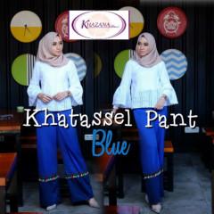 celana khatassel pants by khazana btari blue
