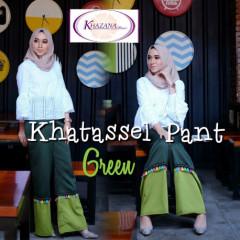 celana khatassel pants by khazana btari green