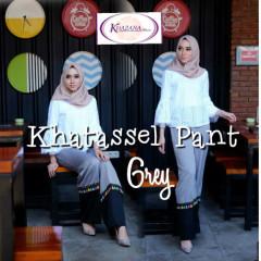 celana khatassel pants by khazana btari grey