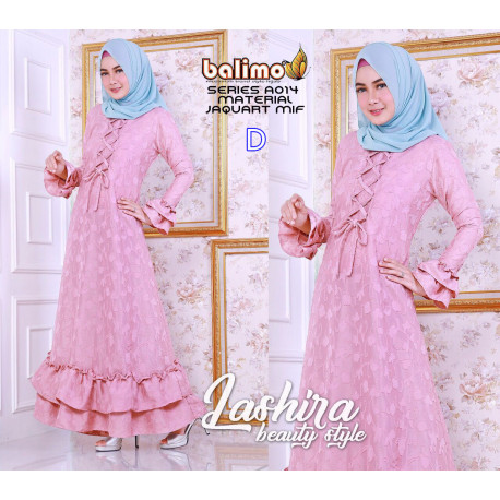 gamis anak muda Lashira dress by balimo collection D