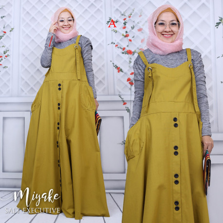 gamis muslim miyake dress A