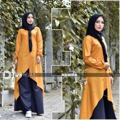 gamis namira by hijab d-two orange