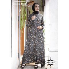 gamis terbaru aimara dress moda by erista