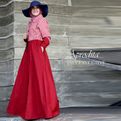 gamis terbaru aprodita by salt executive red