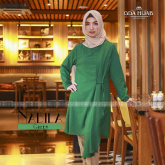 gamis terbaru nabila tunik by GDA green