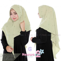 grosir model hijab khimar mini sahina Gg