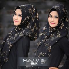 hijab terbaru jilbab tammia ranti by flow Black