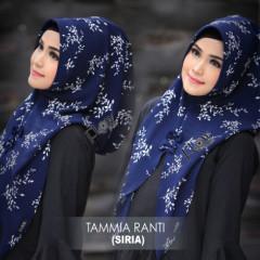 hijab terbaru jilbab tammia ranti by flow navy