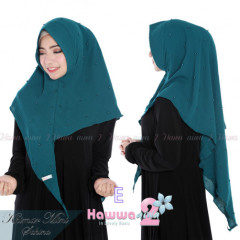 jual model hijab khimar mini sahina E