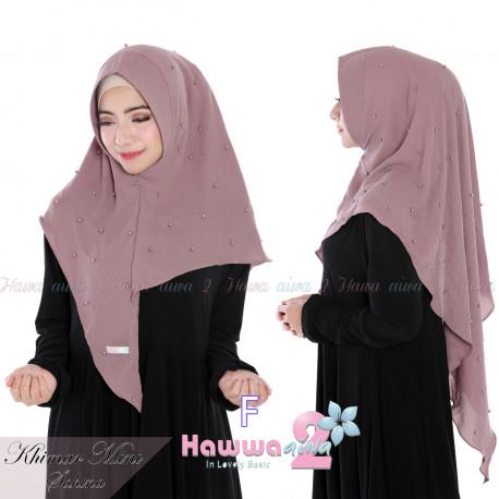 koleksi model hijab khimar mini sahina F
