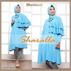 model baju gamis sharalla by efandoank light blue