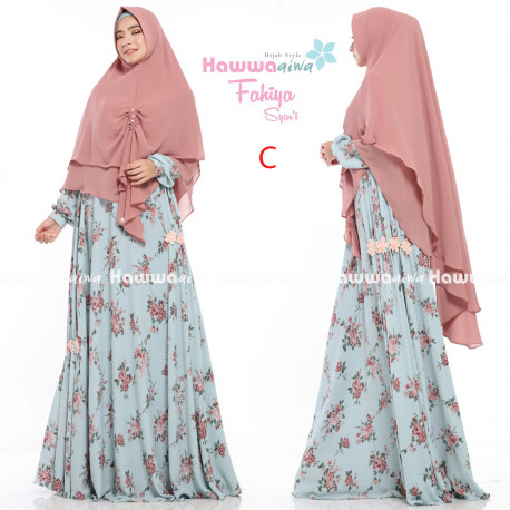 model gamis fahiya gamis set by hawwaaiwa C