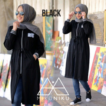 model gamis terbaru naila by mikuniku black
