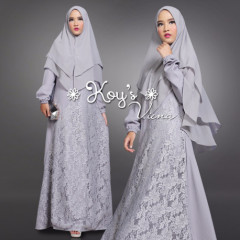 model gamis vienna syari by koys grey