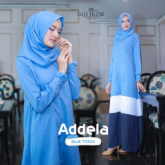 Addela Dress Blue Tosca