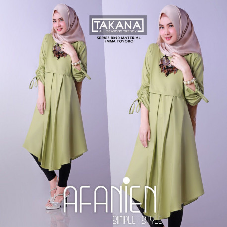 Afanien Tunik b040 Avocado