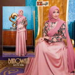 Banowati by iz design Dusty Pink