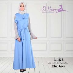 Elliza tanpa pashmina blue
