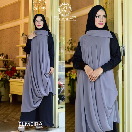 Elmeira Black Grey