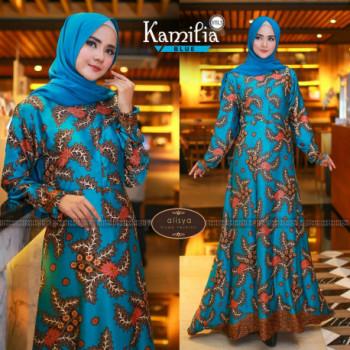 Kamilia Dress Blue