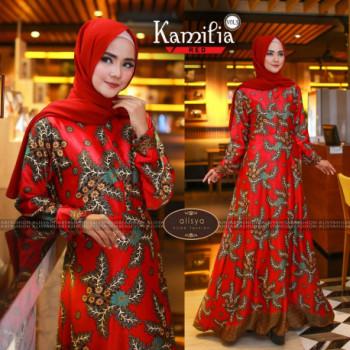 Kamilia Dress Red
