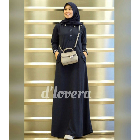 Orlin Dress Navy