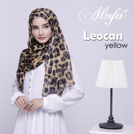 Pashmina Instan Leocan Yellow