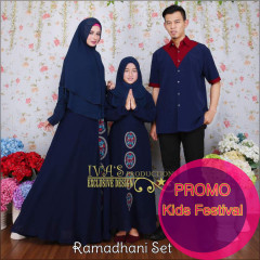 Ramadhani dress kids navy